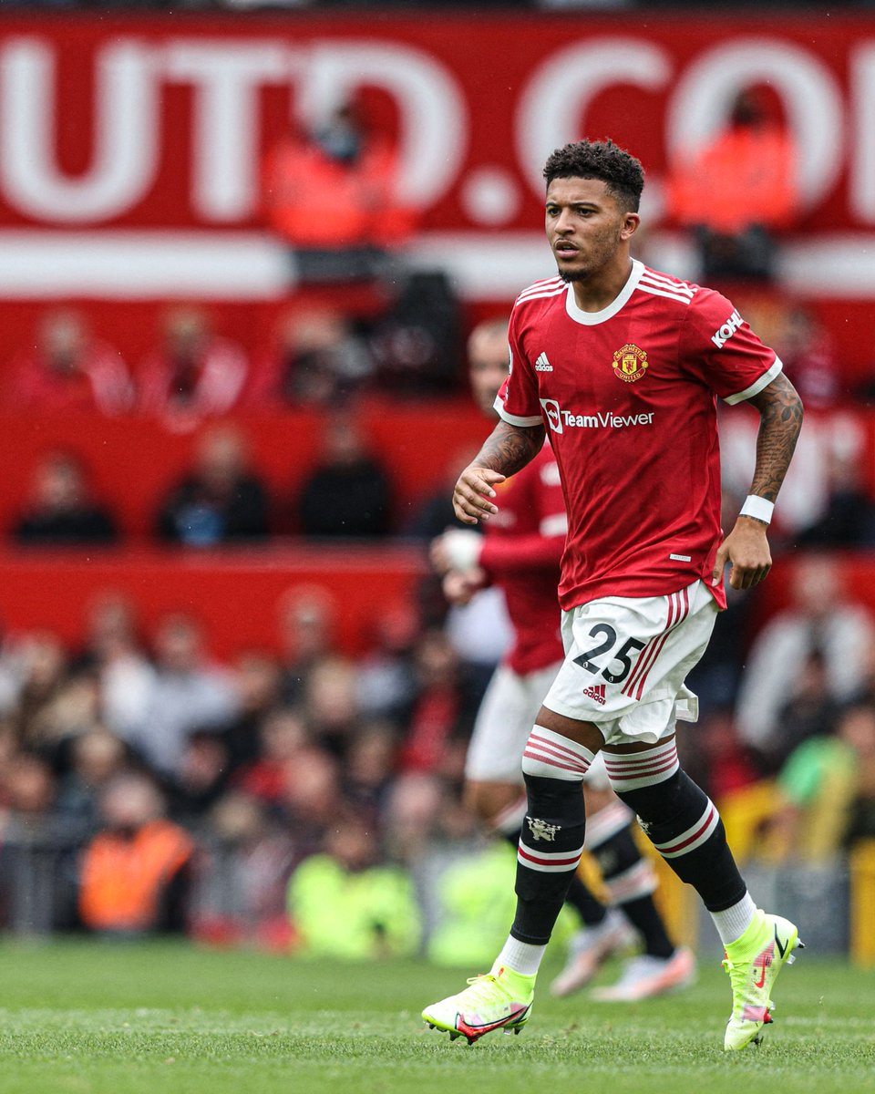 """B/R Football on Twitter: """"Jadon Sancho makes his debut for Manchester  United 🔴… """""""
