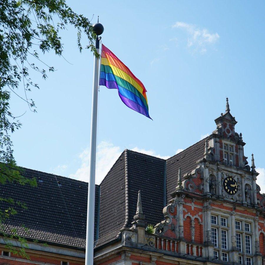 test Twitter Media - Sehr schön @Senat_Hamburg 😃👍 Auch vor dem Harburger Rathaus weht die Flagge und setzt ein Zeichen für sexuelle und geschlechtliche Vielfalt! #Harburg #ZusammenlebeninVielfalt #Toleranz #CSD2019 https://t.co/nvSwJ5cfi7 https://t.co/4EEIOHpv10
