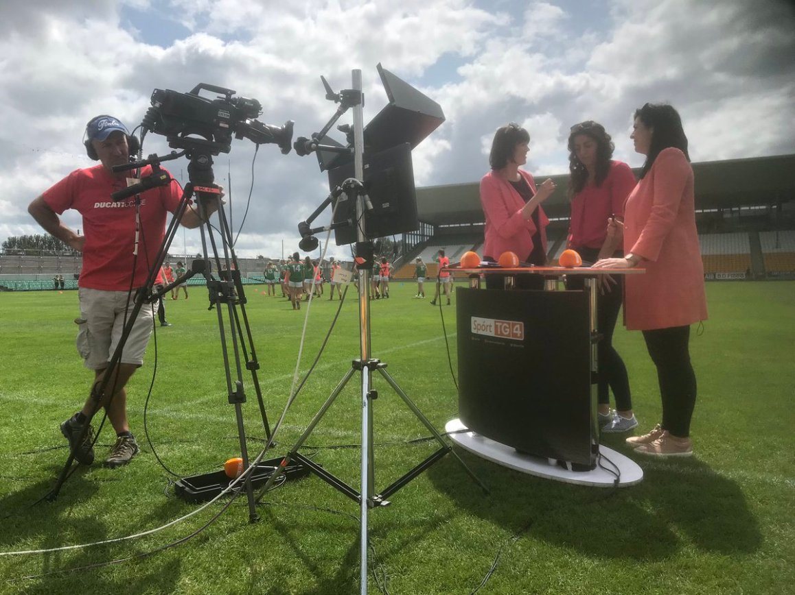 test Twitter Media - On @SportTG4 now - live coverage of @LadiesFootball All Ireland Senior Championship @DonegalLGFA V  @Mayo_LGFA https://t.co/RGkTcZBIhB