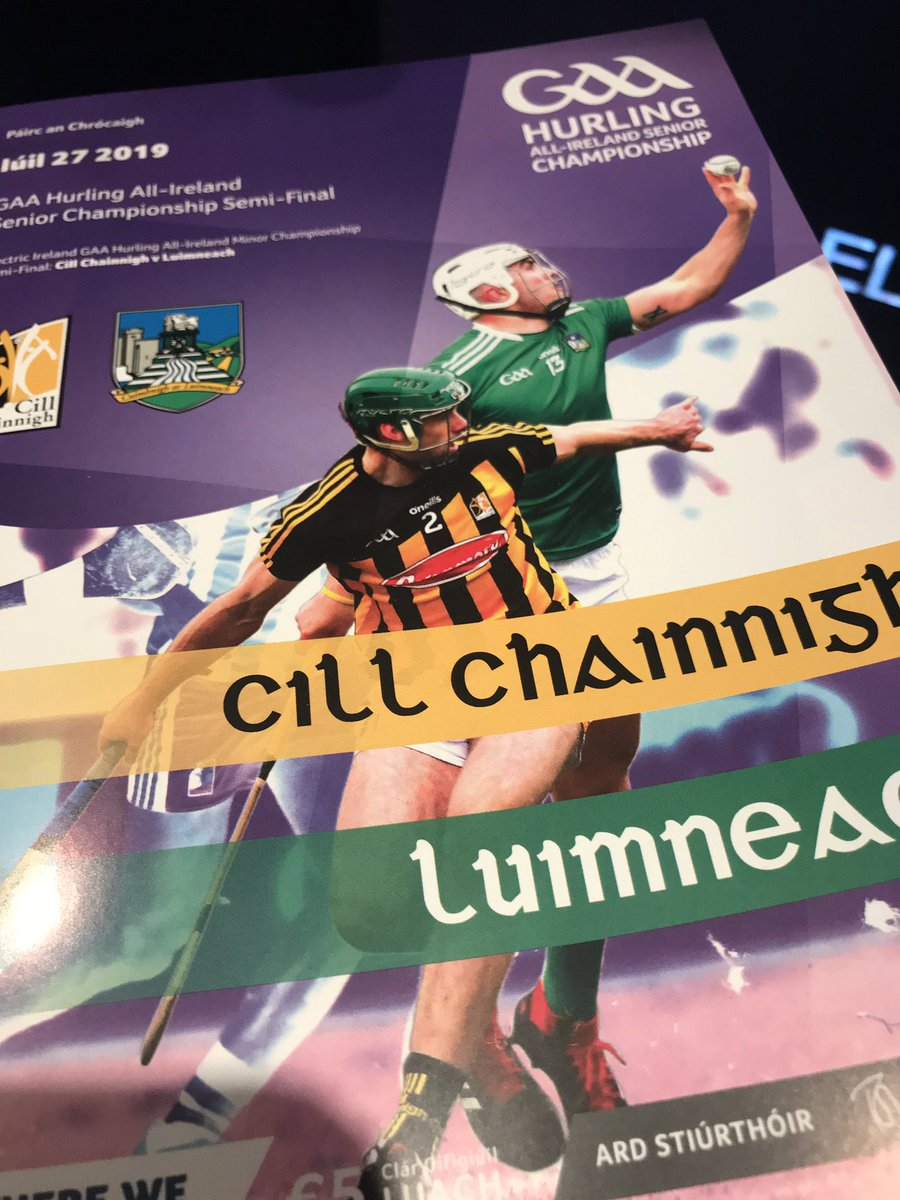 test Twitter Media - We are live on RTE 2, It's Kilkenny v Limerick in the Senior Hurling Championship Semi-Final https://t.co/SXvt2UfsOg