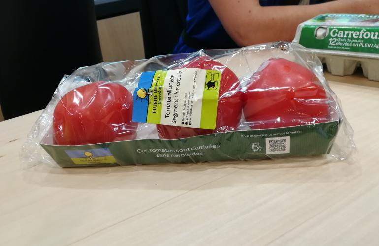 tomates bio une barquette