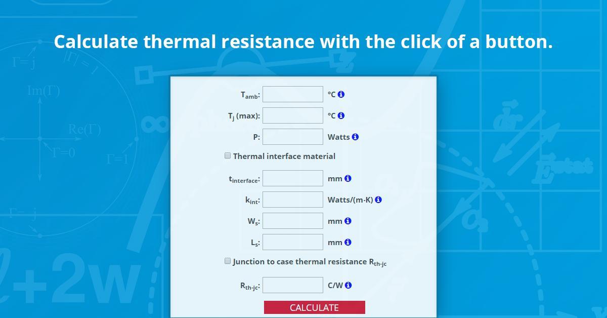 component junction temperature