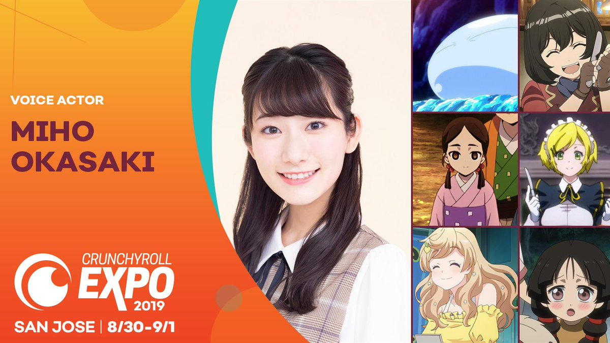 Known for voice acting mary hunt from my next life as a villainess: Crunchyroll Expo Vcrx On Twitter Did You Know Miho Okasaki S Breakout Role As Rimuru Tempest From That Time I Got Reincarnated As A Slime Won Best Protagonist At The Crunchyroll