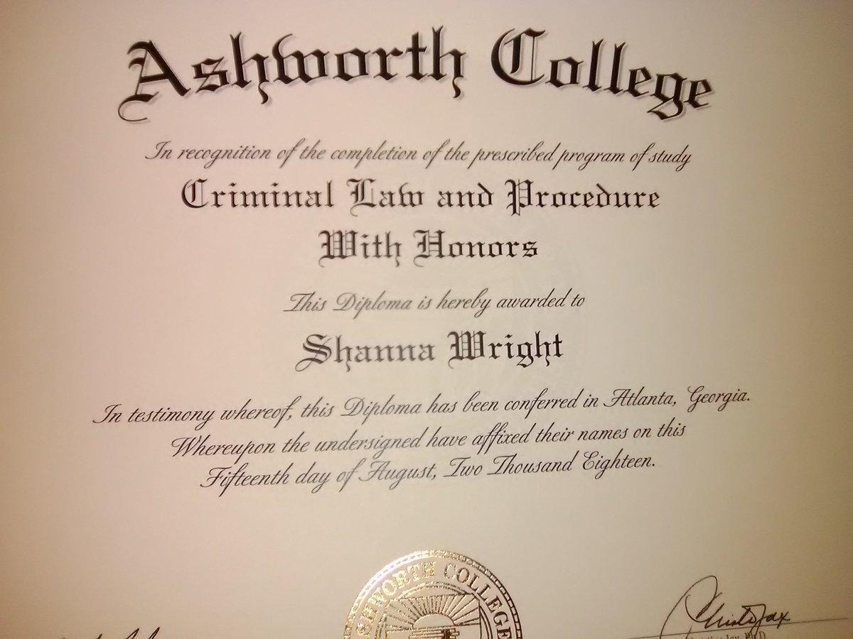 Ashworth College Certificate Programs