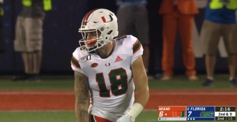 Tate Martell Sets A Wide Receiver Thirst Trap, Girlfriend Kiki Passo Can't Resist