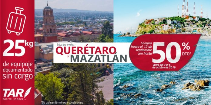Image result for tar aerolinas queretaro a mazatlan