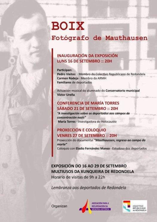 test Twitter Media - La Asociación en colaboración con la Asamblea Republicana de Redondela inagura hoy lunes a las 20h la exposición sobre Francesc Boix el fotógrafo de Mauthausen.  Recordaremos a los deportados gallegos que fallecieron en campos de concentración. https://t.co/eOgv7PojCg