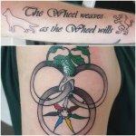 Aes Sedai Wheel Of Time Tattoos
