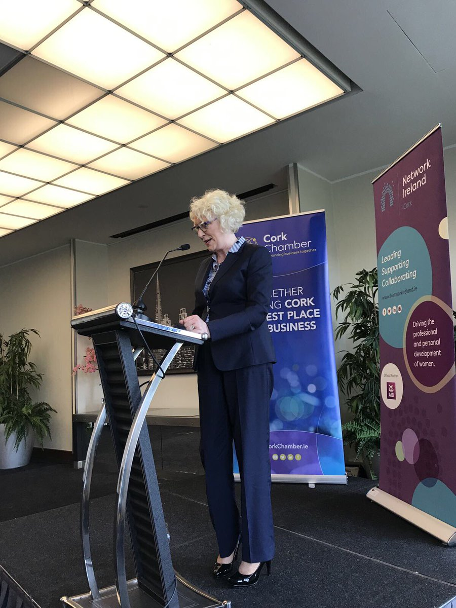test Twitter Media - Very proud of @arnold_helen who was the Keynote Speaker at the @NetworkCork and @CorkChamber Women in Leadership Executive Lunch today   #NetworkIreland https://t.co/dB3Ne10yOe
