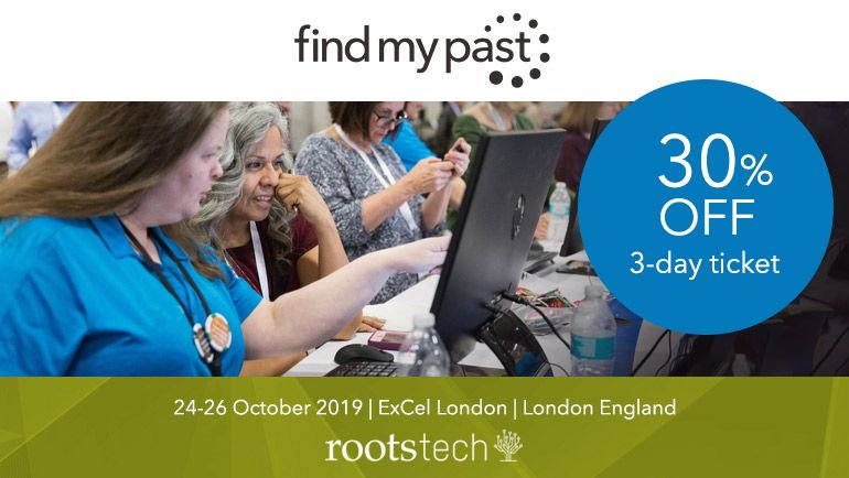 If you are thinking about attending Rootstech in London you can still get tickets! #rootstechlondon