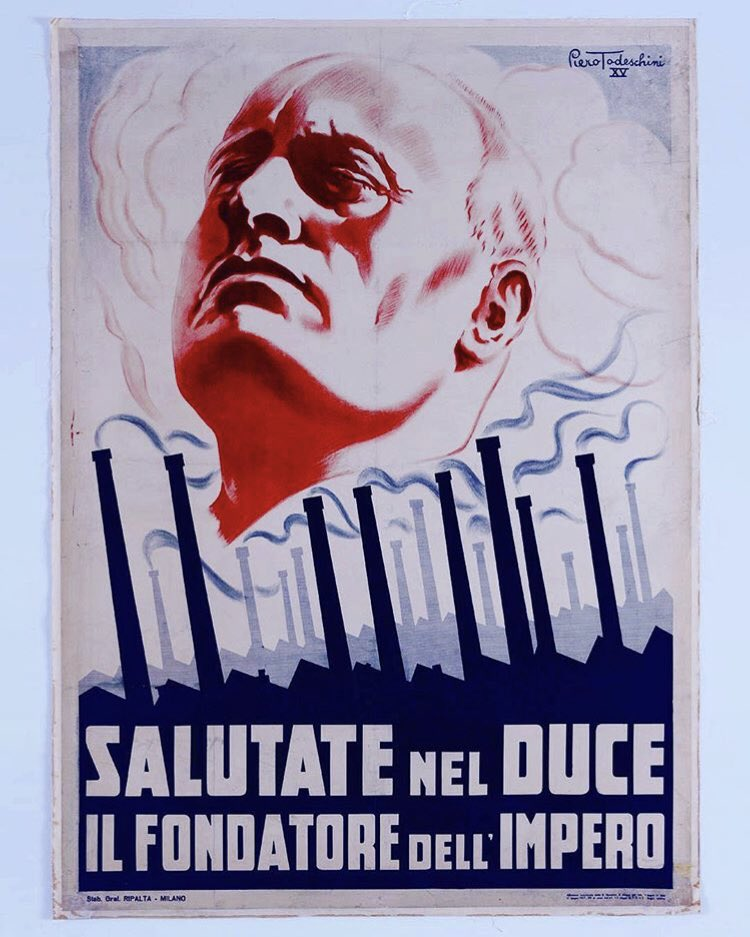 "Propagandopolis on Twitter: """"Greet the Duce, founder of the ..."