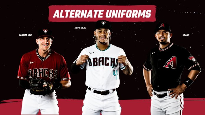 "Arizona Diamondbacks on Twitter: ""A refreshed look for the start ..."