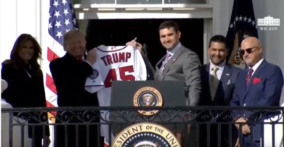 Image result for Washington Nationals visited WH