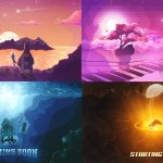 Timpers On Twitter Selling These Premade Animated Pixel Art Starting Screens Hmu If You D Like To Purchase Rn