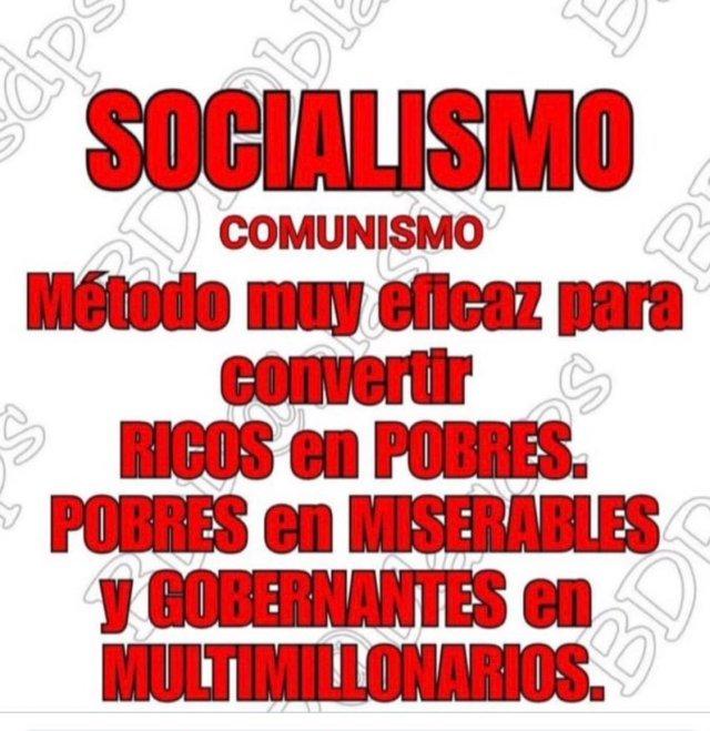 """millie m در توییتر """"""""Odio, Poder y Dinero"""" ahí está la ideología del  Socialismo del Siglo XXI"""". Seguir viendo resentidos sociales como  dictadores socialistas llenos de odio y maldad en contra de"""