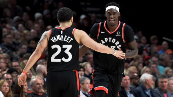 "Josh Lewenberg on Twitter: ""TSN VIDEO: Pascal Siakam and Fred VanVleet have  grown together in the NBA, they've built a friendship, and now it's paying  off for the Raptors. https://t.co/6LpVfj50AB… https://t.co/XeqsJCko3g"""