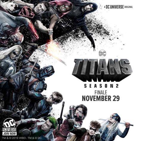 Finale Titans S2 poster van DC Universe
