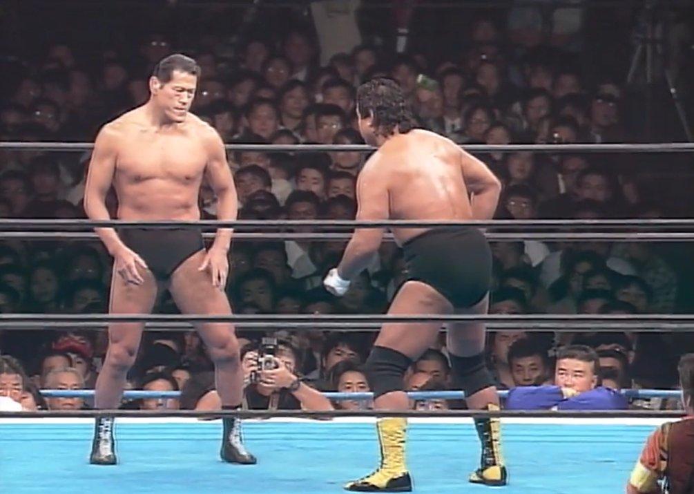test ツイッターメディア - WRESTLE KINGDOM 14 IS 26 DAYS AWAY!  On January 4 1994, Antonio Inoki faced Genichiro Tenryu in a main event a year in the making.   Check out the Wrestle Kingdom Rewind! https://t.co/TnOfAQzvQL #njpw #njwk14 https://t.co/gC75X70WdP