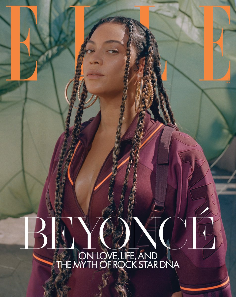 beyonce stars in elle s january 2020 issue