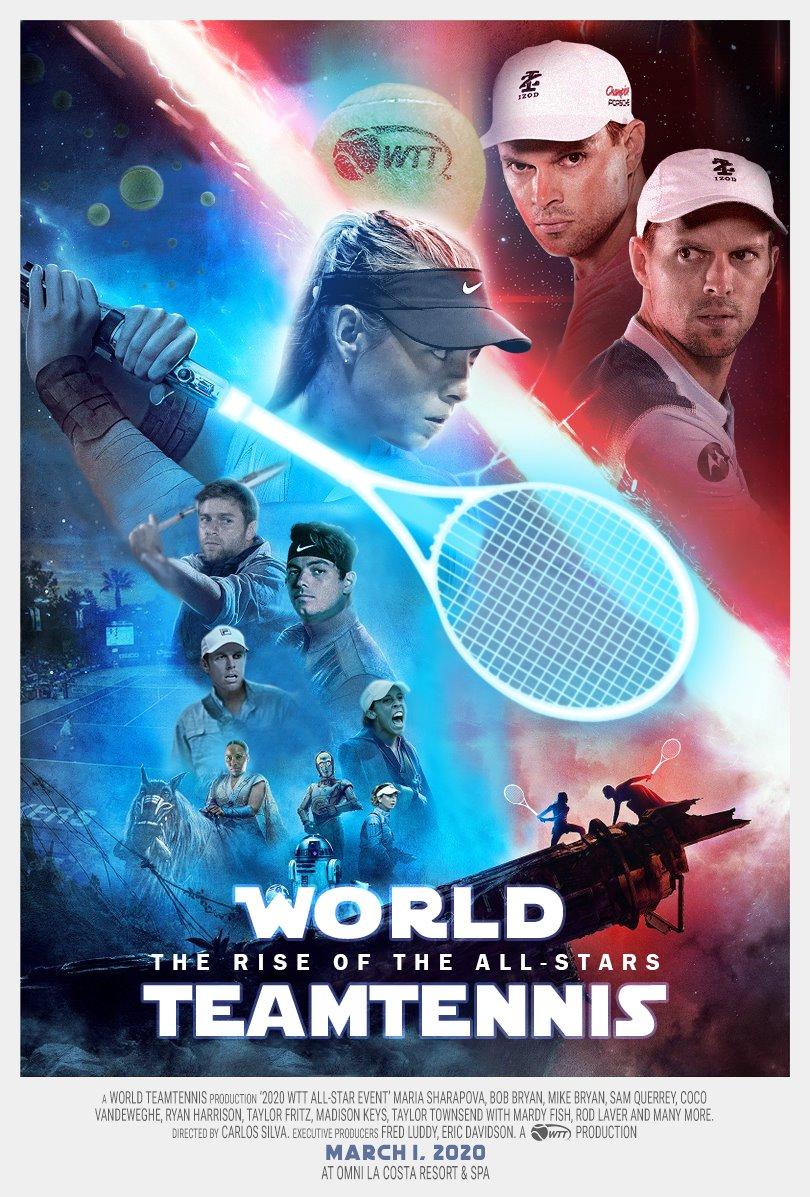 Resultado de imagen para Team Bryan Tops Team Sharapova, Wins WTT Celebrity All-Star Match