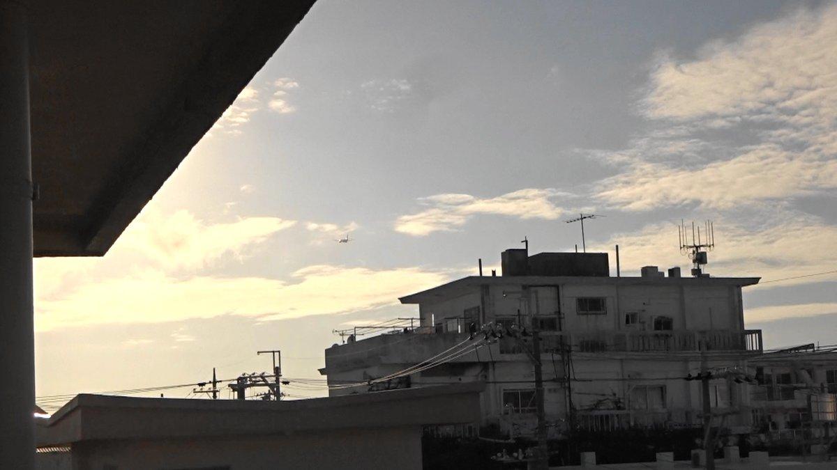test ツイッターメディア - 沖縄市役所の真上を通過)2019年12月17日午後4時10、14、19分嘉手納米軍基地。沖縄市住民地域上空で、爆音と排気ガスを撒き散らし違反飛行を繰り返すP8。危険極まりない、生活環境破壊、人権侵害だ!米軍は沖縄から出て行け!https://t.co/cZ7L0QWvLq https://t.co/loCZ70Ewon