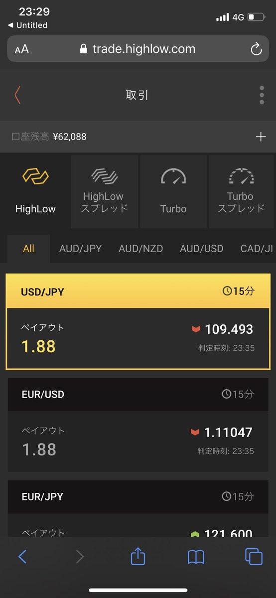 test ツイッターメディア - 為替もビットコインもBOも触ってたけど今年はバイナリーメインでいこう2万円チャレンジ14日目¥62,088前日比+1,550円#2万円チャレンジ#バイナリーオプション https://t.co/NhK3DQwuXy
