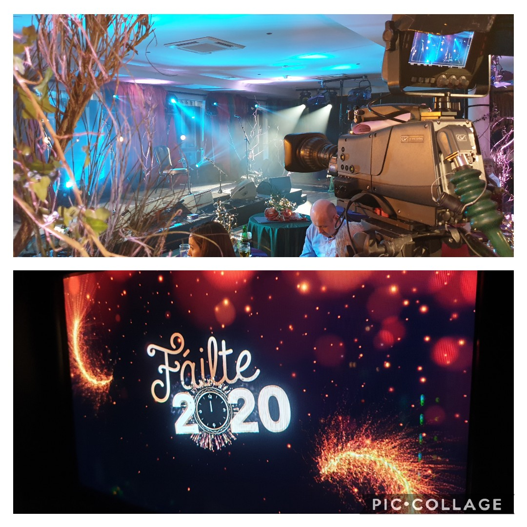 test Twitter Media - We are all set here at Pecockes Hotel,  Maam Cross  for the Failte 2020 live show. Watch live on TG4 from 11.20pm as we ring in 2020 in style.  #failte2020 @AniarTV @TG4TV https://t.co/LzrX7AMs29