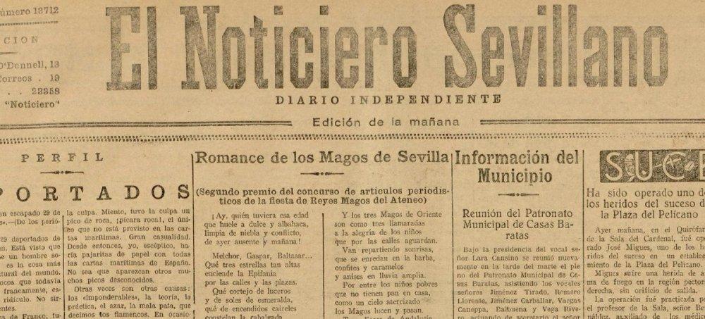 Resultado de imagen de Noticiero Sevillano