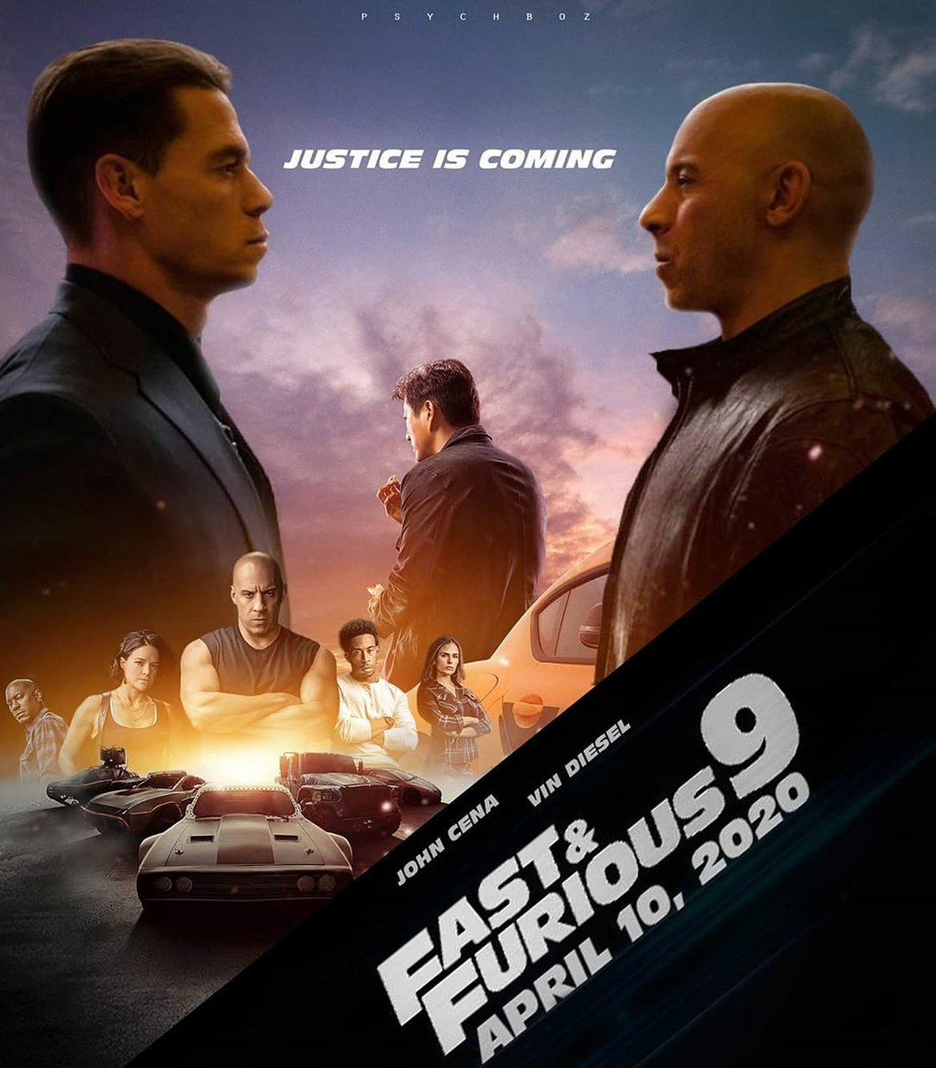 badass fast furious 9 poster created
