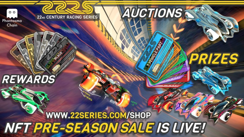 Our #NFT Pre-Season sale has just launched!  Over 1k NFT vehicle parts / On-dema... 4