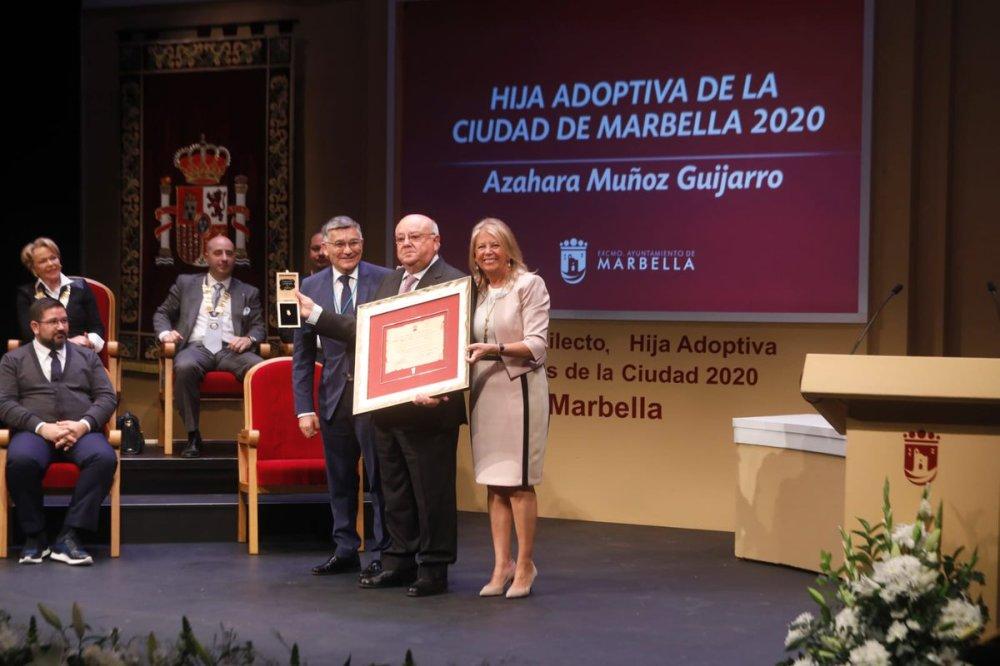 Resultado de imagen de MEDALLAS MARBELLA 2020