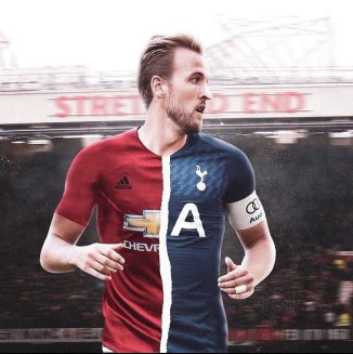 """Transfer News på Twitter: """"Harry Kane would be very open to signing for Manchester  United this summer if a deal can be done between Man Utd and Spurs. The  26-year-old is desperate"""