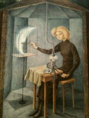 "Francisco Ribeiro on Twitter: ""Remedios Varo (1908 - 1963) Celestial Pablum  ,1958.… """