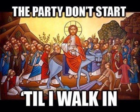 Palm Sunday Meme
