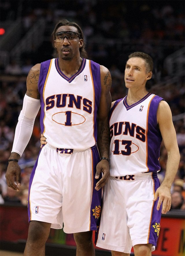 """Andrew on Twitter: """"here's Amar'e Stoudemire and Steve Nash with ..."""