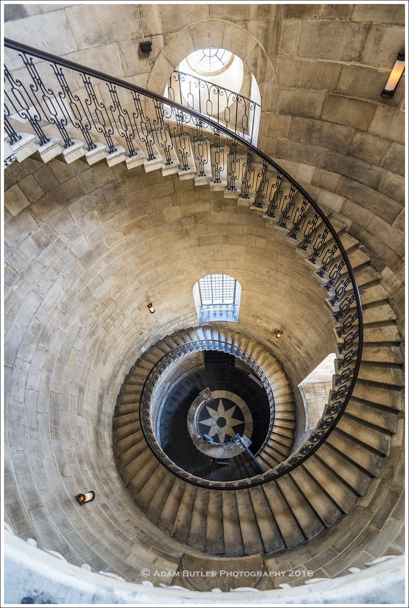 Adam Butler On Twitter Inside One Of The West Facade Bell Towers | Self Supporting Spiral Staircase | Stairway | Concrete | Supporting Structure | Santa Fe | London Uk