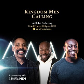 "WATCH: Tony Evans to Host Online ""Kingdom Men Calling"" Event on Good Friday Urging Men to Covenant With God to Help Heal the Nation"