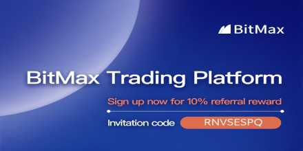 Start Trading $BTC On BitMax   Sign up now for 10% referral reward    ... 1