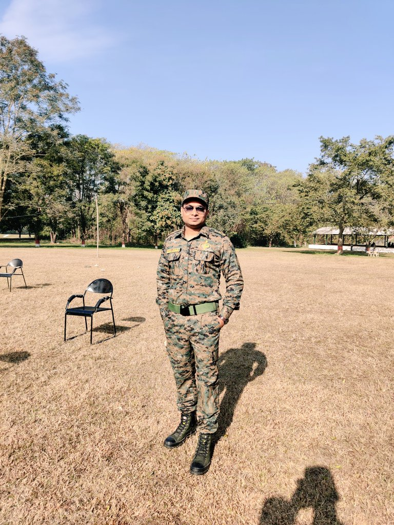 """But i can use anything 30"""" Ankit Kumar Ifs On Twitter Hello During Training We Are Required To Wear Combat Uniform Not After Posting To Our Cadres"""