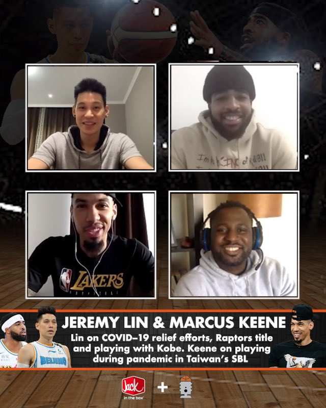 Coming soon: @JLin7 on COVID-19 relief efforts, returning to play in China, Raptors title and LOL Kobe moment. @Marcus3Keene on finishing season in Taiwan's SBL during pandemic. Danny Green on NBA potential return.   🎙: @DGreen_14 & @HarrisonSanford   Presented by @JackBox