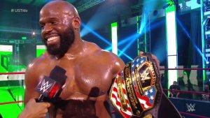New WWE U.S. Champion Apollo Crews.