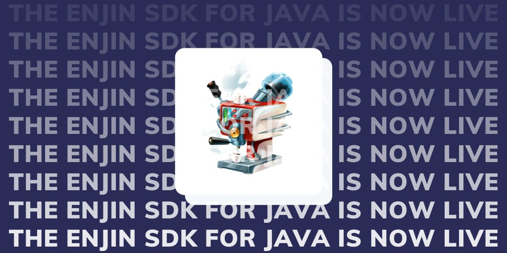 We've also released the new Enjin SDK for @java!    This open-source SDK forms t... 8
