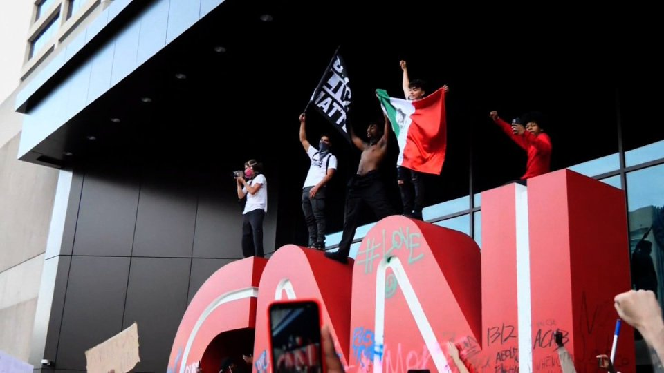 CNN promotes imperial foreign policies, identity politics and divisions across spectrums so long as it's beneficial to the bourgeoisie. They continue pretending to work for and on behalf of the people, but it's just an act...propaganda.
