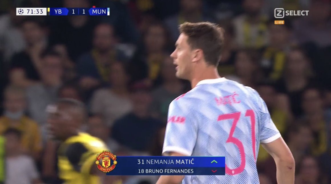 """𝐀𝐅𝐂 𝐀𝐉𝐀𝐗 💎 on Twitter: """"📸 - Bruno Fernandes off, Matic on.… """""""