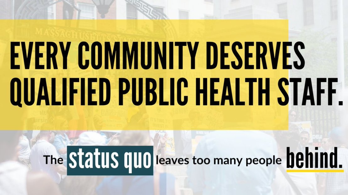 Lesson we need to actively learn + advocate for as a result of the pandemic: We need to support + fund  local public health. Also: we need to fund statewide public health which is woefully under-resourced. Public health means public, not- contracted-out-private-consultant health. https://t.co/2JNSlxaZK6