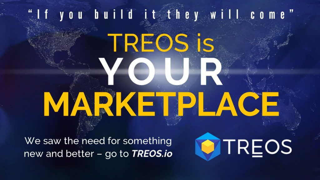 """At #TREOS we saw a need for a better economy that serves the people. """"If you bui... 1"""