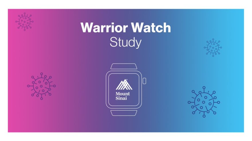 """Mount Sinai Health System on Twitter: """"Now Recruiting: @MountSinaiNYC  Employees. The Warrior Watch Study aims to identify #COVID19 infections  before symptoms develop and to understand how the stress of the COVID-19  pandemic"""