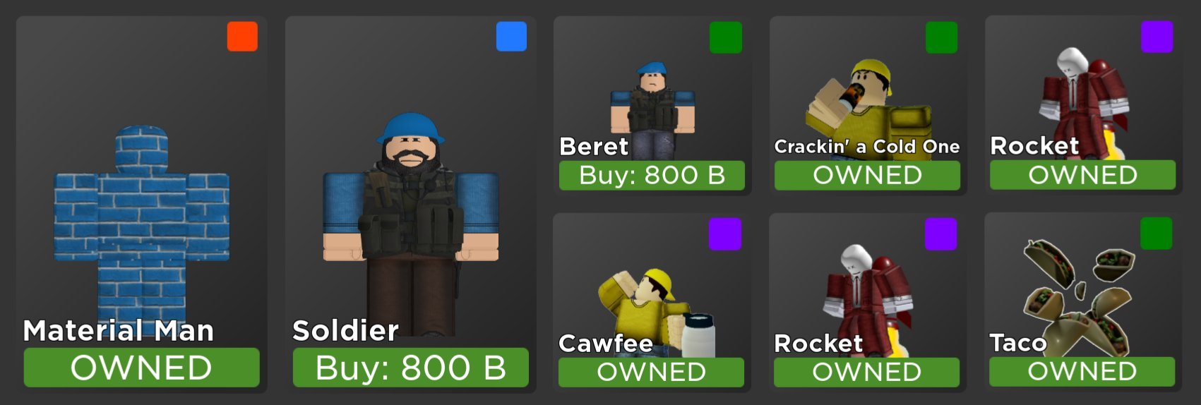 arsenal daily shop on twitter roblox