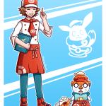 Sencho En Twitter Been Playing Pokemon Cafe Mix Quite A Bit Recently And Felt Like Drawing Hilbert And Oshawott In The In Game Uniform Pokemon Pokemoncafemix Nintendo Https T Co Jer0kpo2ka