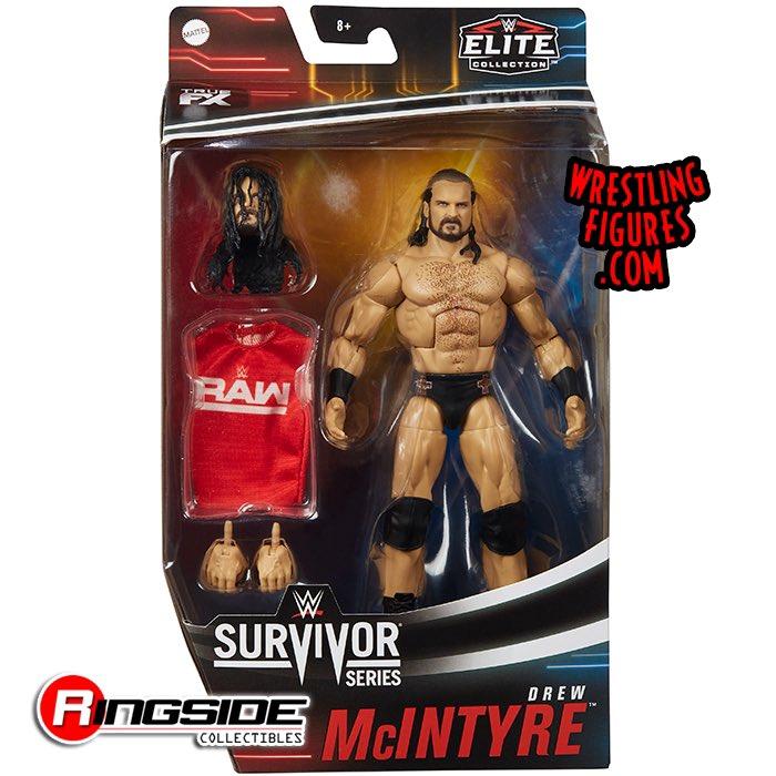 Wwe Mattel Elite Drew Mcintyre Survivor Series Wrestling Action Figure New 2020 Sports Creta Toys Hobbies